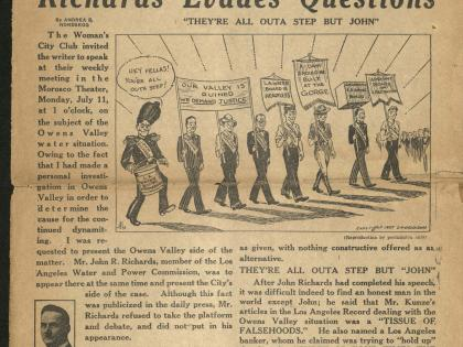 The Gridiron - California's Fighting Newspaper Collection, July 22, 1927