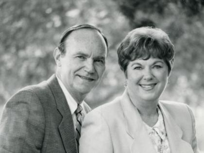 """Neal and Molly as winners of the """"La Cañadan of the Year"""" Award, 1994"""